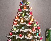 Christmas tree Large Traditional Old Fashioned by SueSueSueCrafts