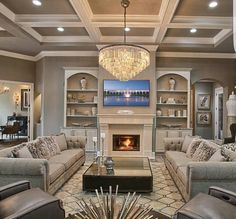 Glamorous Home With Beautiful Details By