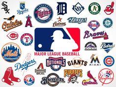 major league baseball logo | Major League Baseball Team Vector Logos EPS SVG PSD | PSDCovers