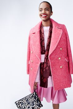 Catwalk photos and all the looks from J.Crew Autumn/Winter Ready-To-Wear New York Fashion Week Fall Fashion Trends, Fashion Week, Winter Fashion, Fashion Show, Fashion Tips, Mode Rose, Look Cool, Designer, Ready To Wear