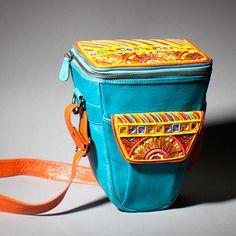 Schön aber recht teuer:  Tasche Spiegelreflex Jaipur, 258€, jetzt auf Fab.