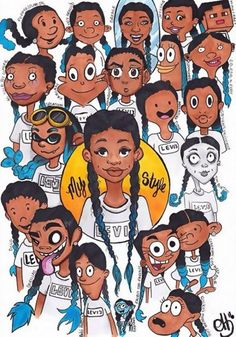 cartoon art This Challenge Invites Artists To Reimagine Their Art In Different Cartoon Styles And The Result Is Amazing Cartoon Cartoon, Cartoon Kunst, Black Cartoon, Cartoon Styles, Cartoon Drawings Of People, Drawing Cartoon Characters, Character Drawing, Art Challenge, Drawing Challenge