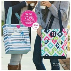 $10 tall organizing tote with $35 purchase in January  www.mythirtyone.com/michelledoll