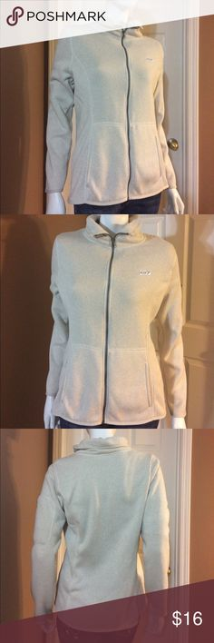 Khaki Knit Lined Active Jacket from Old Navy Gently worn. Size Large Khaki Knit Lined Active Jacket from Old Navy. 100% polyester. Approximately 26 inches in length and 20 inches from armpit to armpit. Zip closure. No rips, stains or tears. Non-smoking home. Old Navy Jackets & Coats