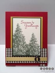Christmas Lodge Stamp idea