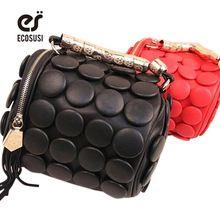 women messenger bag fashion women leather handbag multifunctional stereoscopic shoulder bags with tassel dot women…