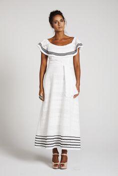 bb46081fb0e35 Binny 'THE BOSSA NOVA 'Off Shoulder Dress with Ric Rac Trim