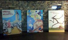 Disfruta doblemente de tu visita a la Torre de Hércules. Hasta el 10 de septiembre exposición de los carteles de las 20 ediciones de Viñetas desde o Atlántico. #TorredeHércules #PatrimonioMundial #VisitaCoruña Lighthouse, Old Things, World, Books, Art, September 10, Towers, Bell Rock Lighthouse, Art Background