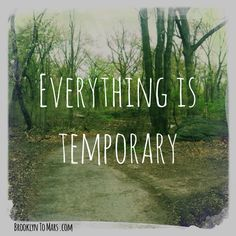 Everything Is Temporary —Brooklyn to Mars