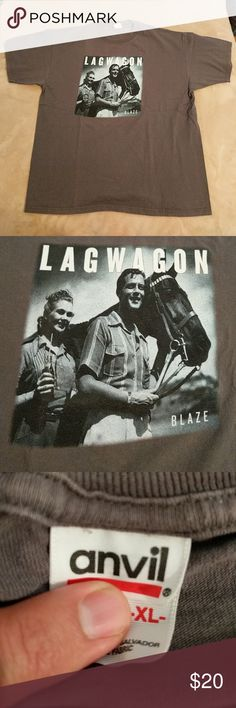 LAGWAGON!!! From BLAZE TOUR in 2003!!! Great shirt. Rarely worn. Very good condition. Shirts Tees - Short Sleeve