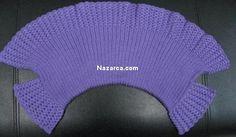 ŞİŞ İLE ÖRÜLEN EN KOLAY ÖRGÜ ÇOCUK BOLERO (RESİMLİ ANLATIMLI) | Nazarca.com Knit Or Crochet, Crochet Hats, Baby Mermaid, Rubrics, Beanie, Knitting, Pattern, Model, Vests