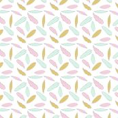 Feathers - girls by createstyledecorate, click to purchase fabric