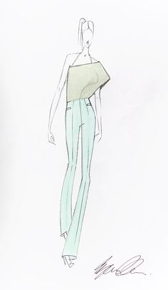 Repin & win this exclusive hand signed fashion sketch from HUGO Womenswear designer Eyan Allen! Follow HUGO BOSS on pinterest and repin this picture to one of your boards.