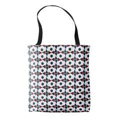 Angle Circle Tote Bag