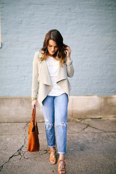 spring style: how to style boyfriend jeans