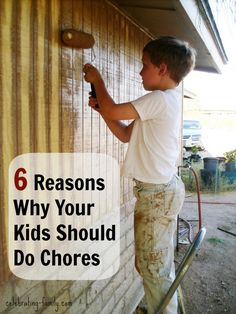 6 Reasons Why Your Kids Should Do Chores