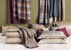 Master Classic collection warm and sophisticated fabric  classic colours, for @MISSONIHome