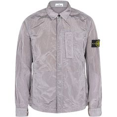 Stone Island Lilac Lightweight Shell Jacket - Size S (£295) ❤ liked on Polyvore featuring men's fashion, men's clothing, men's outerwear, men's jackets, mens lightweight jacket, mens shell jacket and mens light weight jackets