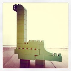 Duplo Brontosaurus from imaginationcostsnothing. My little guy was terrified at a dinosaur exhibition but asked me to make them just the same. Reuse your existing bricks and save $15.00