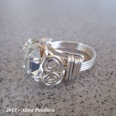 My First Prong Ring... :) | JewelryLessons.com