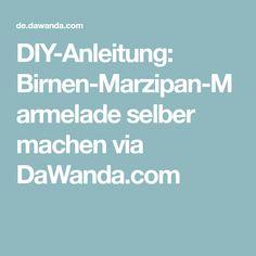 DIY-Anleitung: Birnen-Marzipan-Marmelade selber machen via DaWanda.com