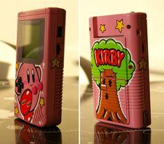 Custom Kirby Gameboy by Oskunk