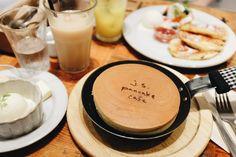 Pancake place in Tokyo