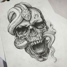 Tattoo Rose Leg Thighs Tatoo Ideas - The - Tattoo Design Drawings, Skull Tattoo Design, Skull Tattoos, Tattoo Sketches, Rose Tattoos, Body Art Tattoos, Sleeve Tattoos, Tattoo Designs, Tattoo Girls