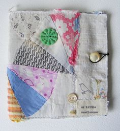 Handmade NEEDLECASE  celebrating texture and very old by hensteeth, $23.00
