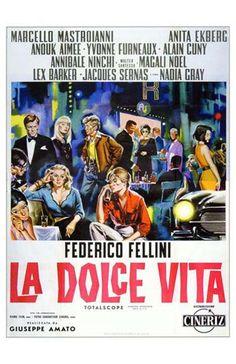 Un film di Federico Fellini. Con Marcello Mastroianni, Anita Ekberg, Anouk Aimée, Yvonne Furneaux, Alain Cuny. continua» Commedia, Ratings: Kids+16, b/n durata 173 min.