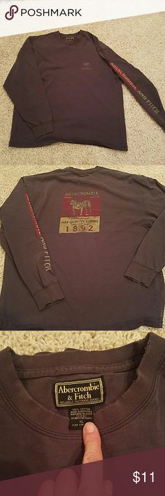Abercrombie & Fitch Mens Shirt. XL Made on Mariana Islands Abercrombie & Fitch Shirts Tees - Long Sleeve