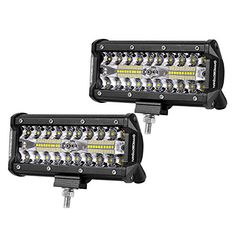 LED Pods, Offroad Town 2pcs 6'' 240W Off road Driving Lig...