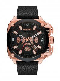 Combining an impressive Rose Gold-tone stainless steel case 7440eee84f