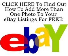 How To Add More Than One Photo To Your eBay Listings For FREE http://www.ebay.co.uk/itm/Add-More-Than-One-Photo-Your-eBay-Listings-FREE-/360383016225?pt=LH_DefaultDomain_0=item53e8806d21