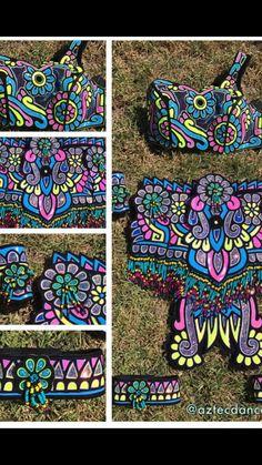 Aztec Costume, Aztec Warrior, Aztec Art, Aztec Designs, Dance Costumes, Folklore, Maya, Arts And Crafts, Culture