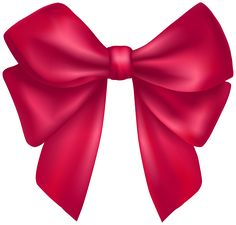 Dark Pink Bow PNG Clipart