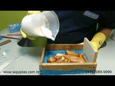 Molde gesso 3D tijolinho Convexo, como fazer. - YouTube