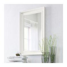 HEMNES Mirror, white white 23 5/8x35 3/8
