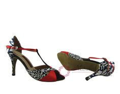 Natural Spin Tango Ladies Shoes: Salsa Shoes/Tango Shoes/Fashion Shoes(Small Ope
