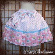 Super sweet cupcake lolita skirt