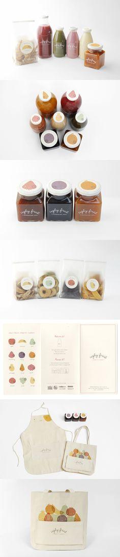 Ugly Fruit - Mirim Seo i ♥ this idea & graphic