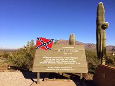 JOHN BANKS' CIVIL WAR BLOG: Civil War in Arizona: Picacho Pass skirmish photo gallery