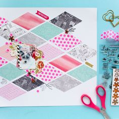 Here is another layout I created with the beautiful June kits from @studio_calico. This one is probably my most favorite. I really loved the washi tape from the kit and how it challanged me to use it in fun creative ways. #scrapbook #scrapbooking #memorykeeping #scrapbookprocess #scrapbookingprocess #scrapbooklayout #scrapbookinglayout #scrap #studiocalico