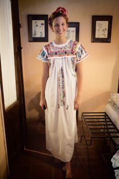 lovely mexican dress! The cuttest!