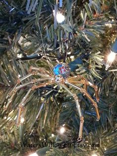 Legend Of The Christmas Spider Ornament  Handmade  by WatersWillow