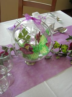 Centre De Table Th Me Papillon O R Ves O Des Espoirs
