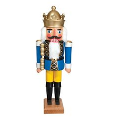 """Drosselmeyer Nutcracker with Cape 14/"""" Wooden 2018 Wood Xmas Holiday"""