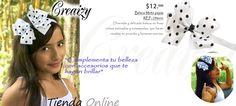 Accesorios, bisuteria, lazos, hair bow, moños, pinzas, moda, fashion, regalos, www.creaizy.com