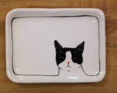 Hand made & animal painted  Versatile dish  Soap Dish