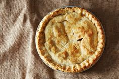 Truly scrumptious apple pie, just in time for fall.